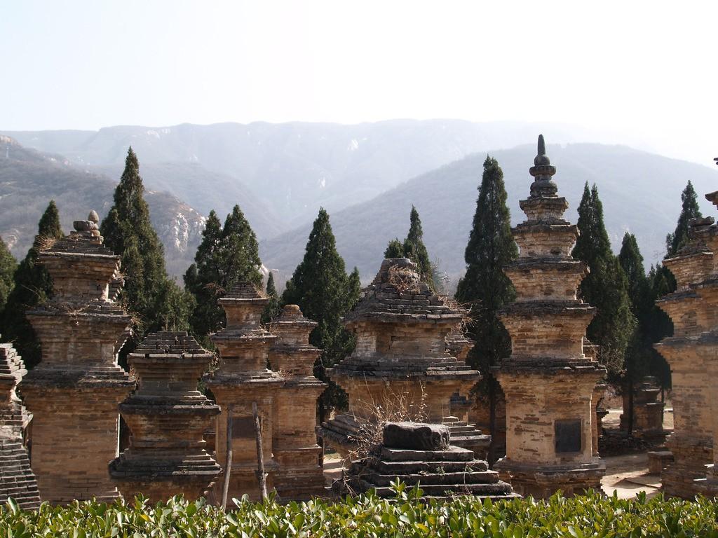 Холмы у храма Шаолинь